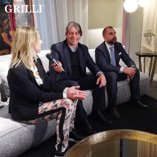 Grilli, Giorgio Tartaro, Design, Salone del Mobile